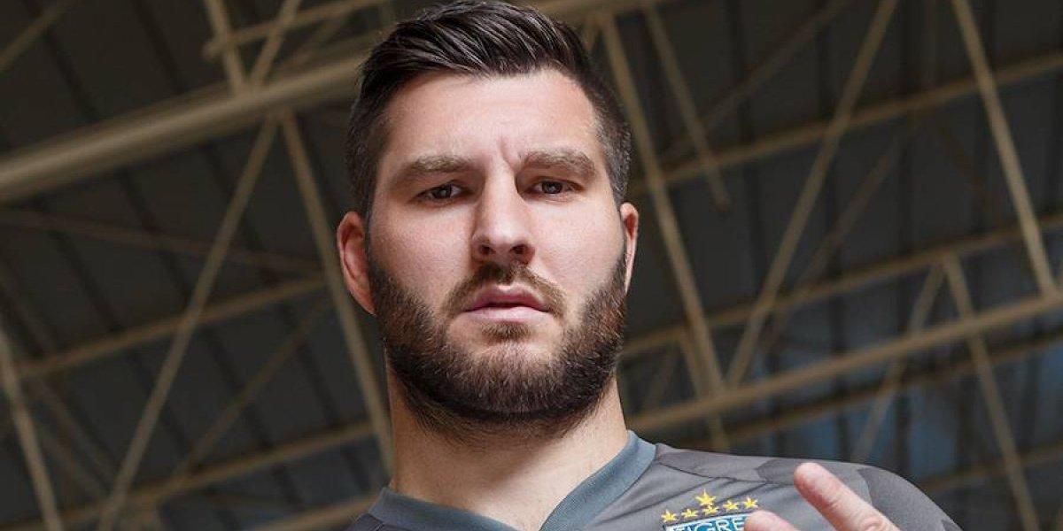 Gignac se convierte en Gokú con la nueva playera de Tigres
