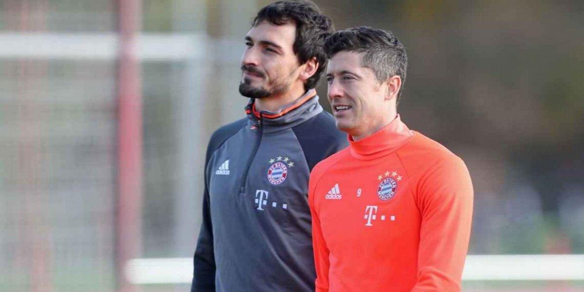 '¡Es una mierda!', Hummels y Lewandowski protagonizan pelea en pleno entrenamiento del Bayern