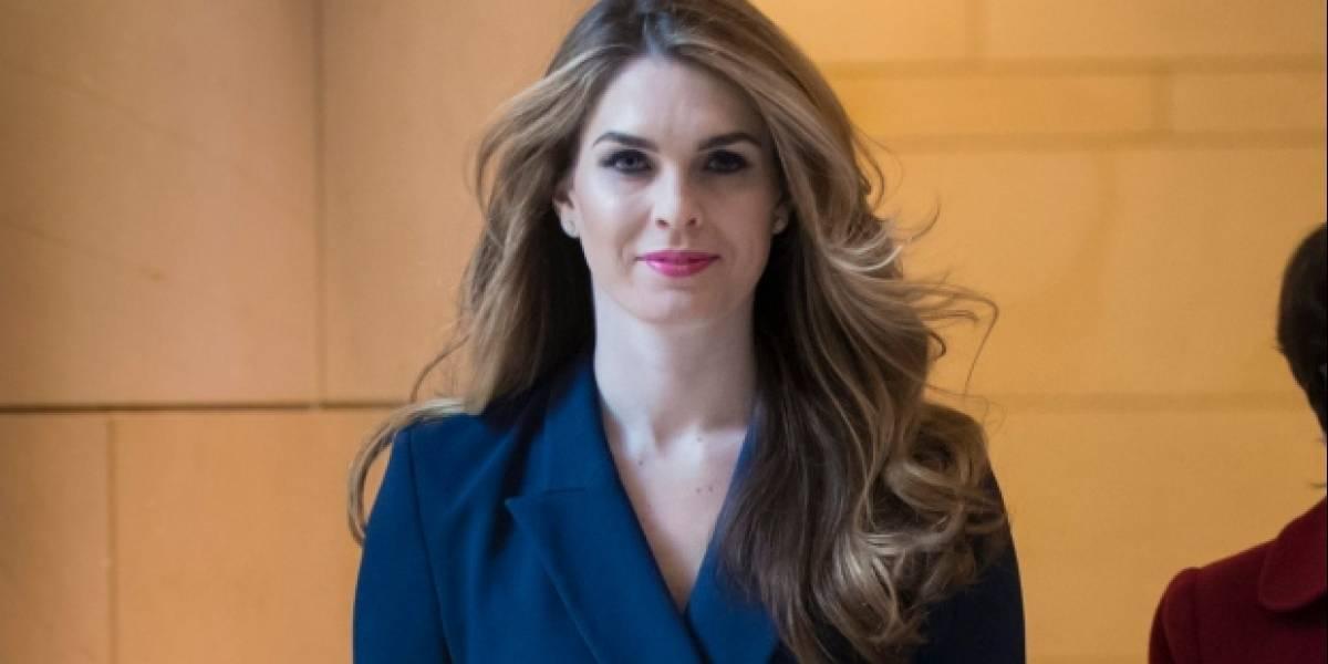 Renuncia directora de Comunicaciones de la Casa Blanca