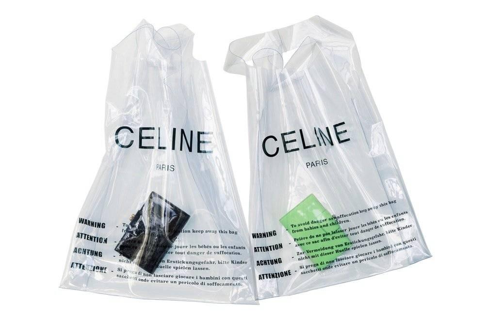 Sacola Celine, mercearia de luxo Reprodução