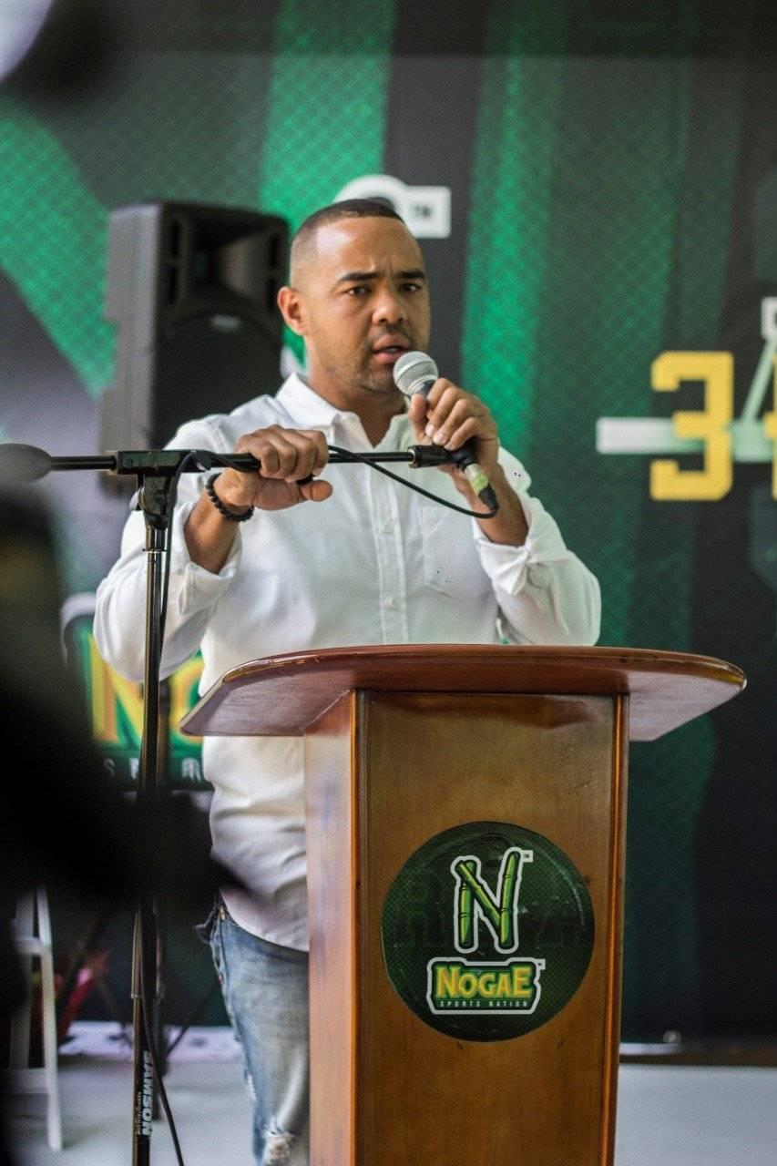 Nolan Peña, presidente de NoGae / foto fuente externa
