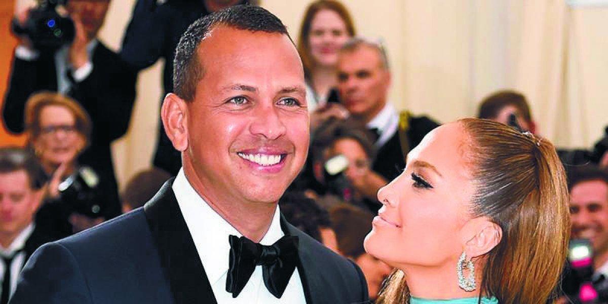 Se rumora boda de Jennifer López y Alex Rodríguez