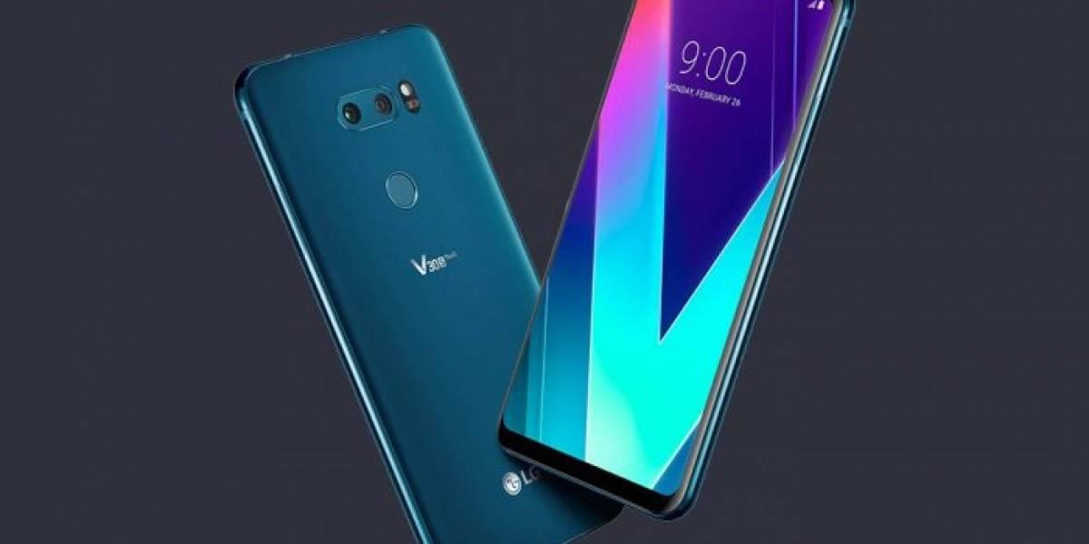 El LG V30S es la versión en esteroides de su predecesor #MWC2018