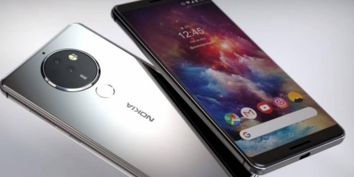 Así sería el Nokia 8 Pro, el próximo gama premium de HMD