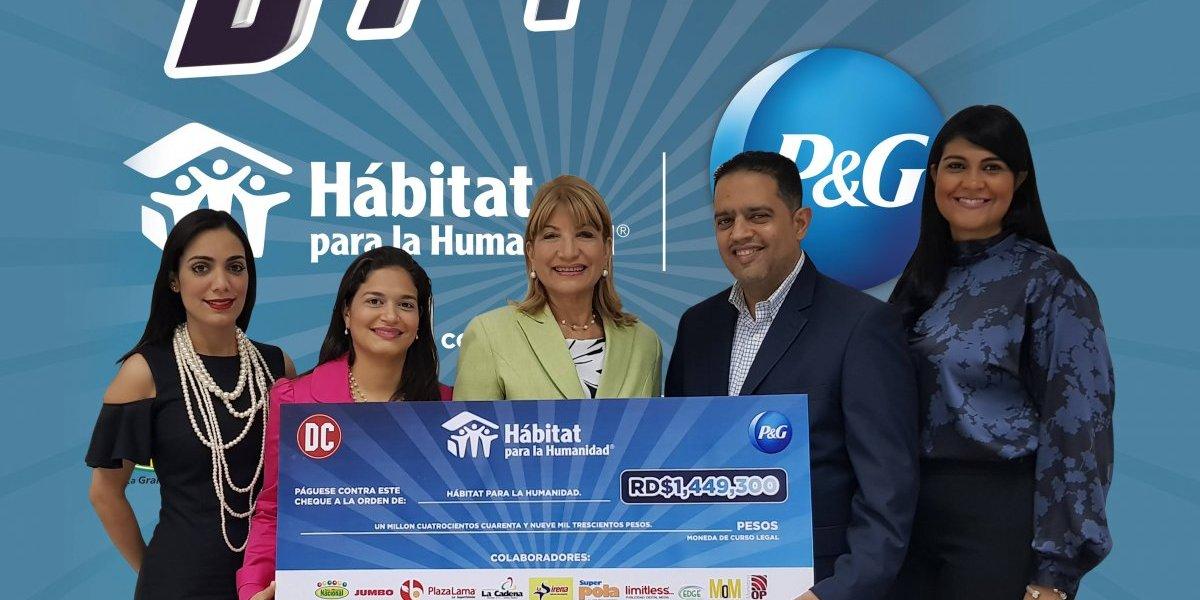 #TeVimosEn: Procter & Gamble se une a la labor de Hábitat para la Humanidad
