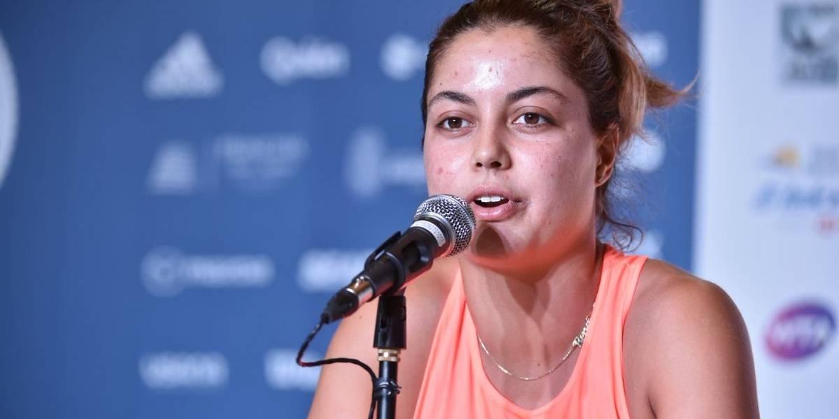 Mexicana Renata Zarazúa avanza a segunda ronda del AMT