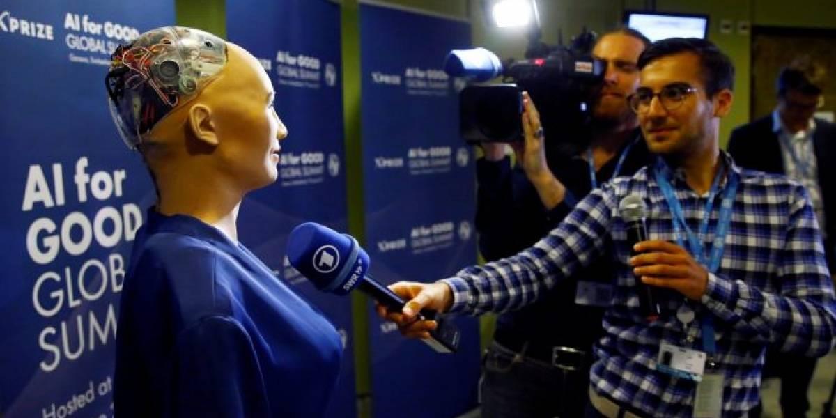 La robot humanoide Sophia va a dar una conferencia en México