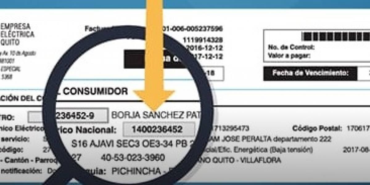 Quito: No se podrá pagar la luz desde bancos durante 4 días