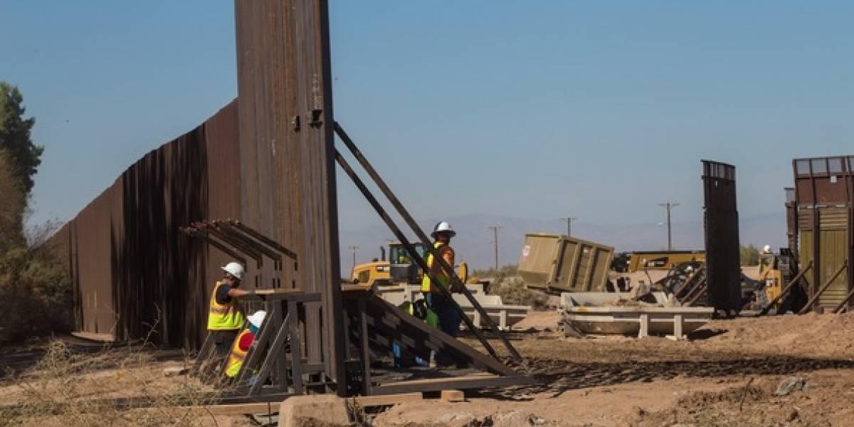 Hallan irregularidades en empresa que construirá el muro fronterizo