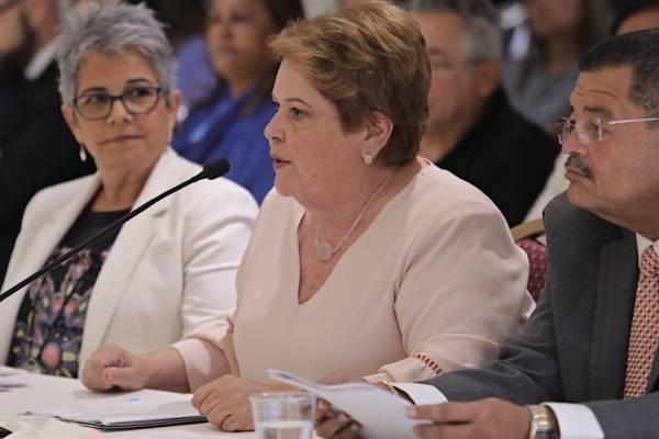 Aida Díaz (centro). Suministrada