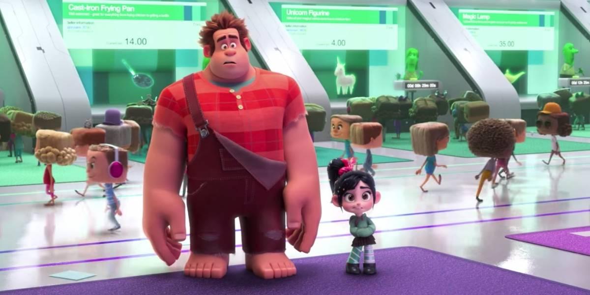 Disney lança primeiro trailer da continuação de Detona Ralph