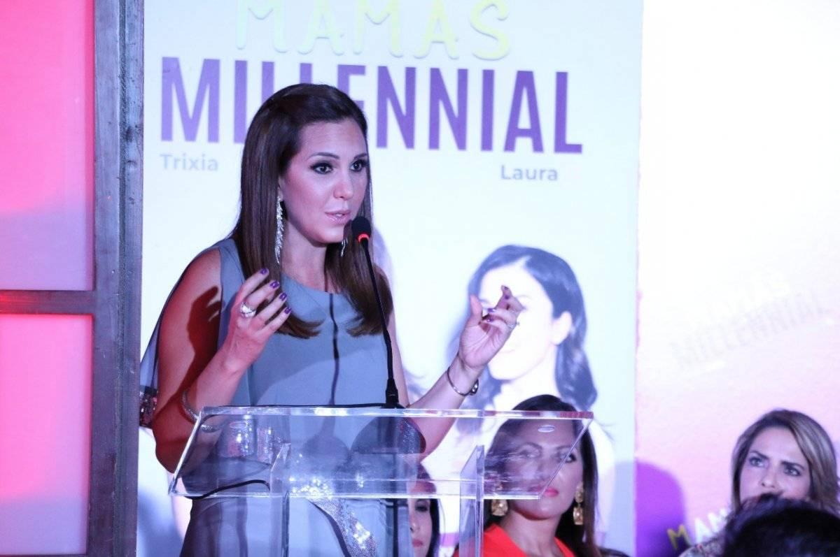 Trixia Valle asegura que el reto de las mamás millenial es hacer buen uso de la tecnología. Cecilia Borja / Publimetro