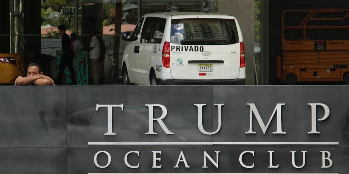 Policías antimotines de Panamá ingresan a hotel Trump