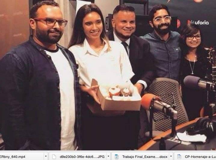 Sebastián Castro, segundo de izquierda a derecha, habló con Metro sobre El Picnic. (suministrada)