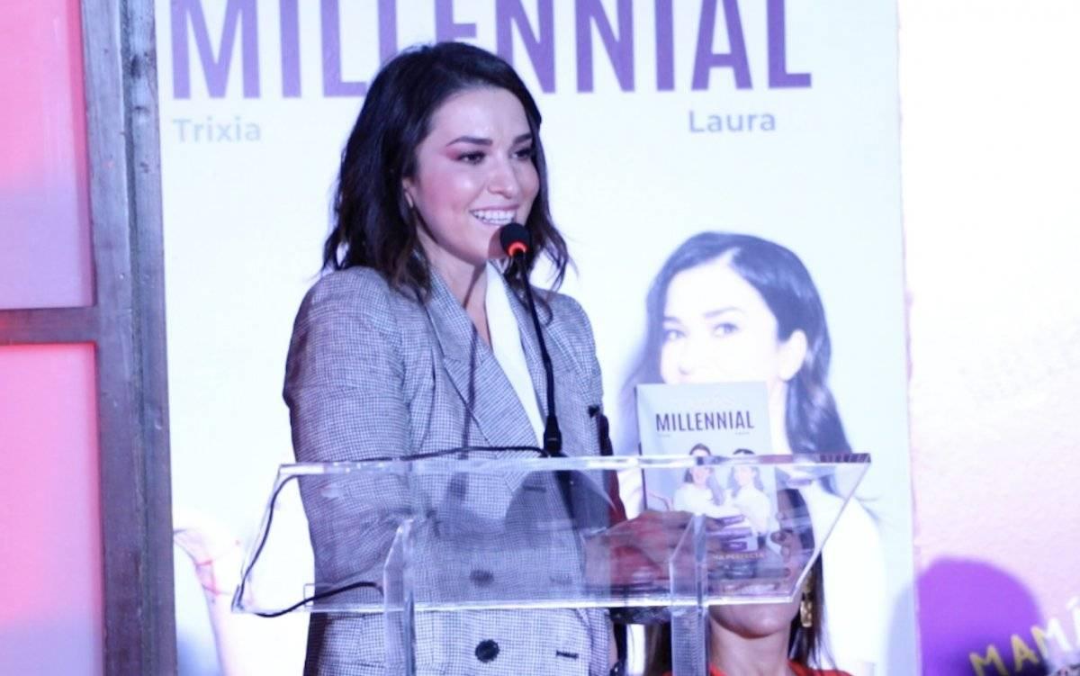 Laura G afirmó que dicho libro está dedicado a su hija Elisa, de ocho meses de edad. Cecilia Borja / Publimetro