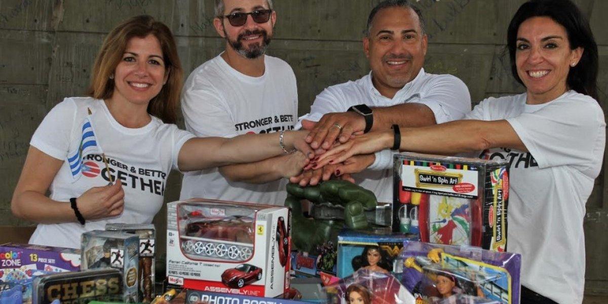 Organización extiende mano amiga a ciudadanos y comerciantes de Vieques