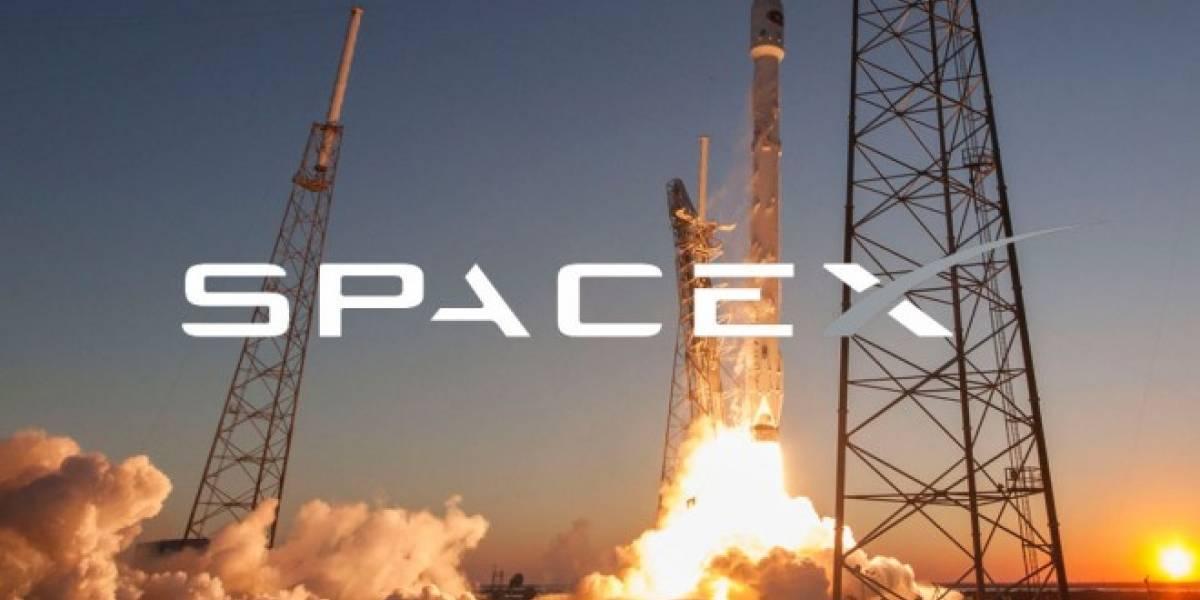 SpaceX lanzó sin explosiones su Falcon 9 cargado con satélites para internet
