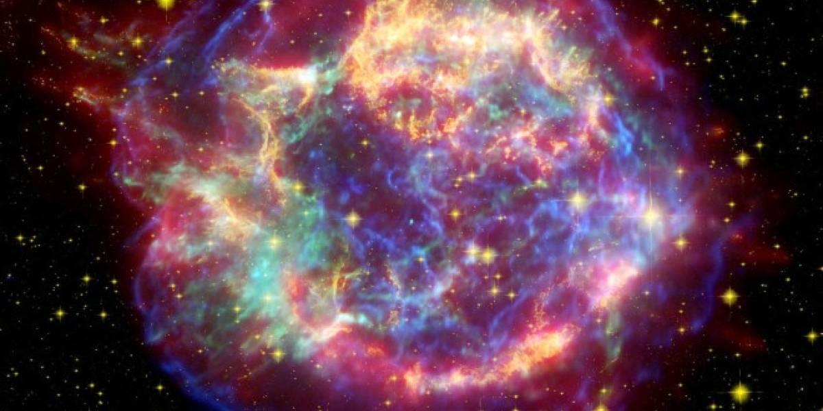 Un cerrajero capta por azar el nacimiento de una supernova