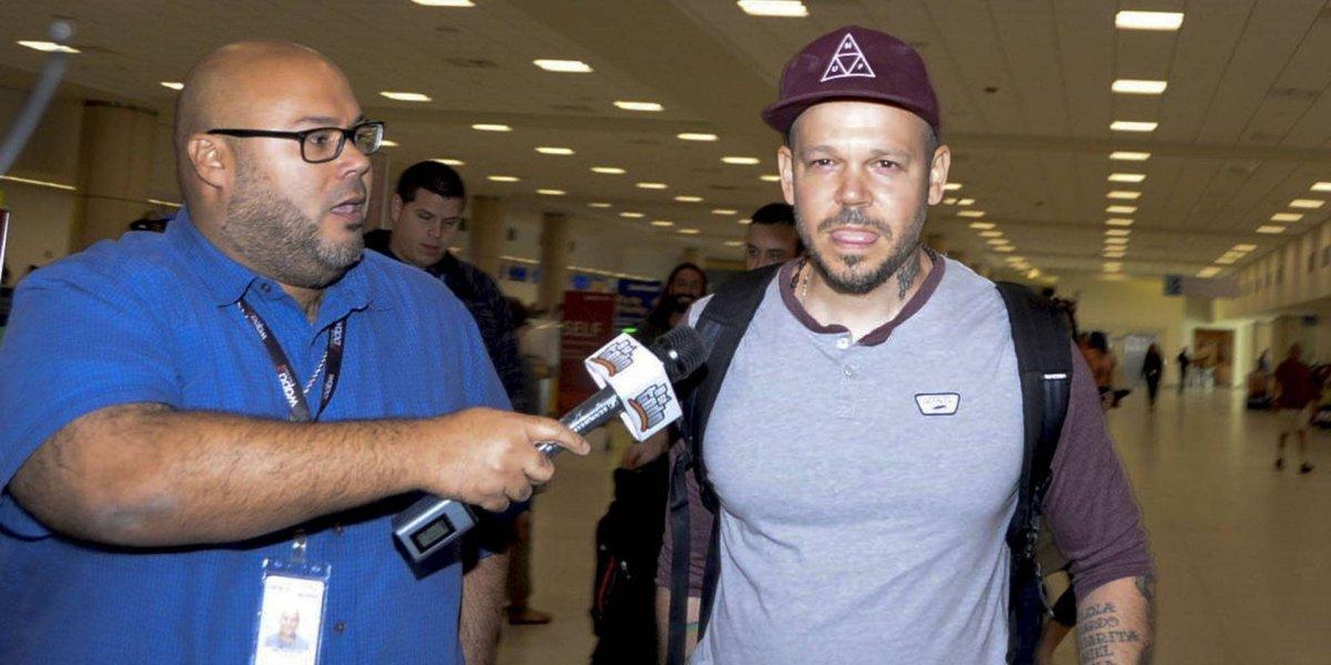 Residente de Calle 13 agrede a periodista