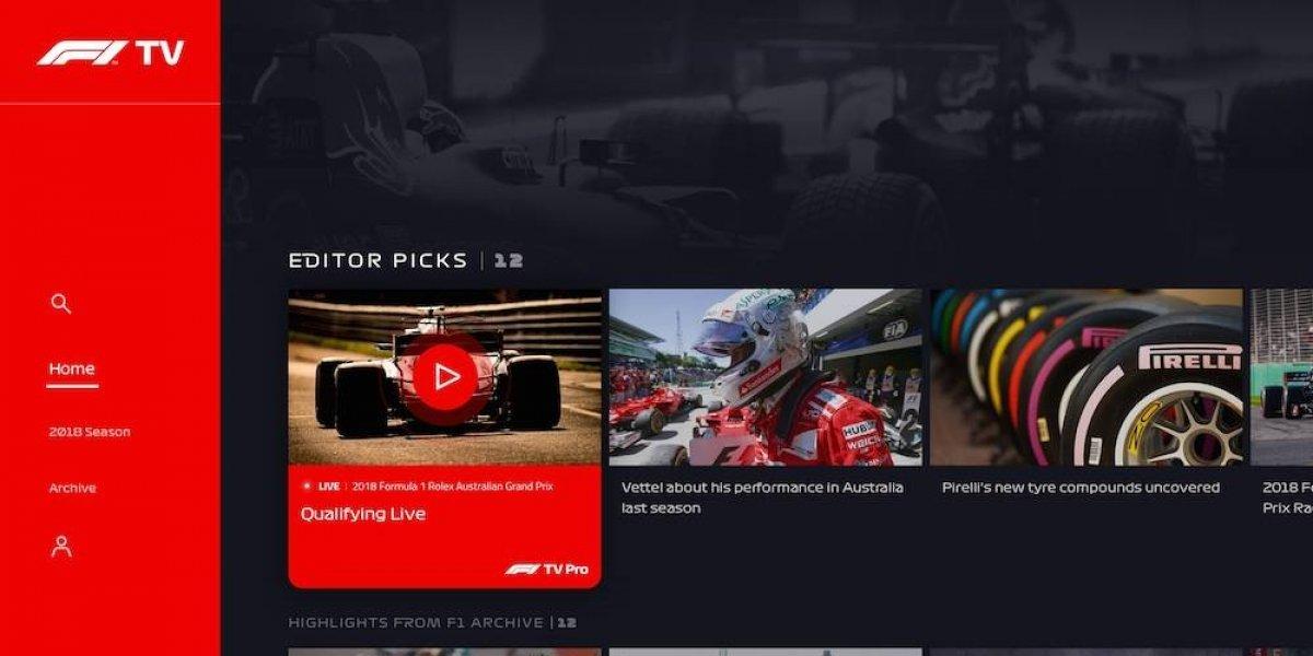 Anuncian lanzamiento de F1 TV