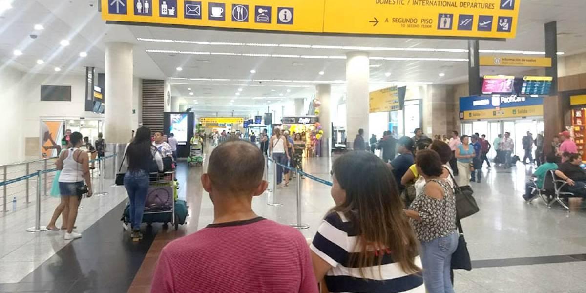 Personal del aeropuerto de Guayaquil será investigado por la DAC