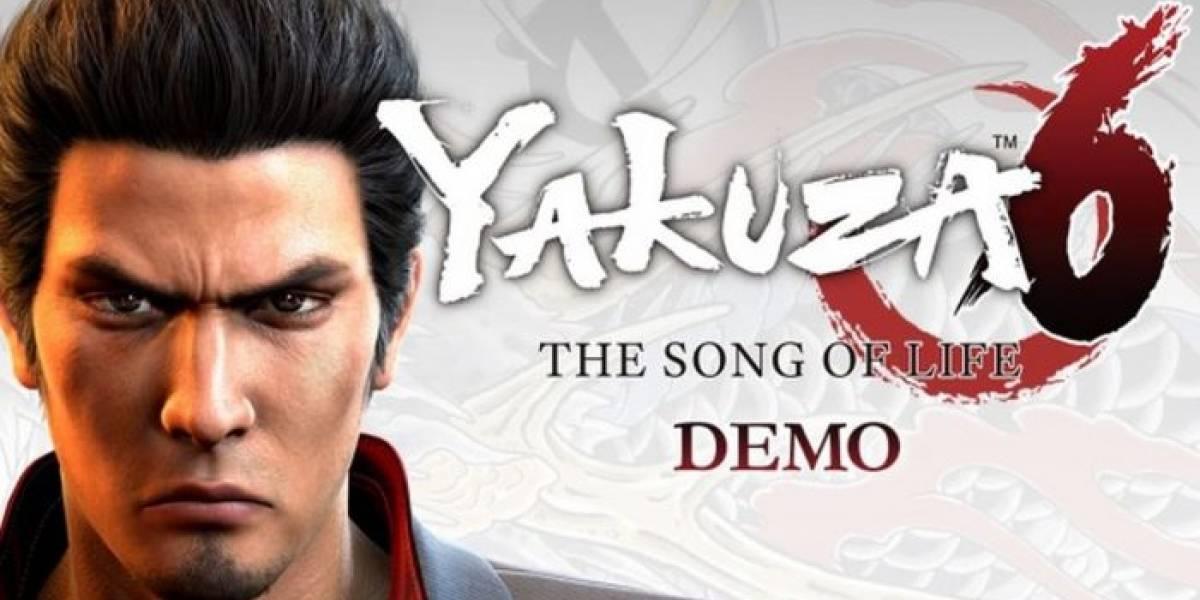 SEGA retira la demo de Yakuza 6: The Song of Life [Actualizado]
