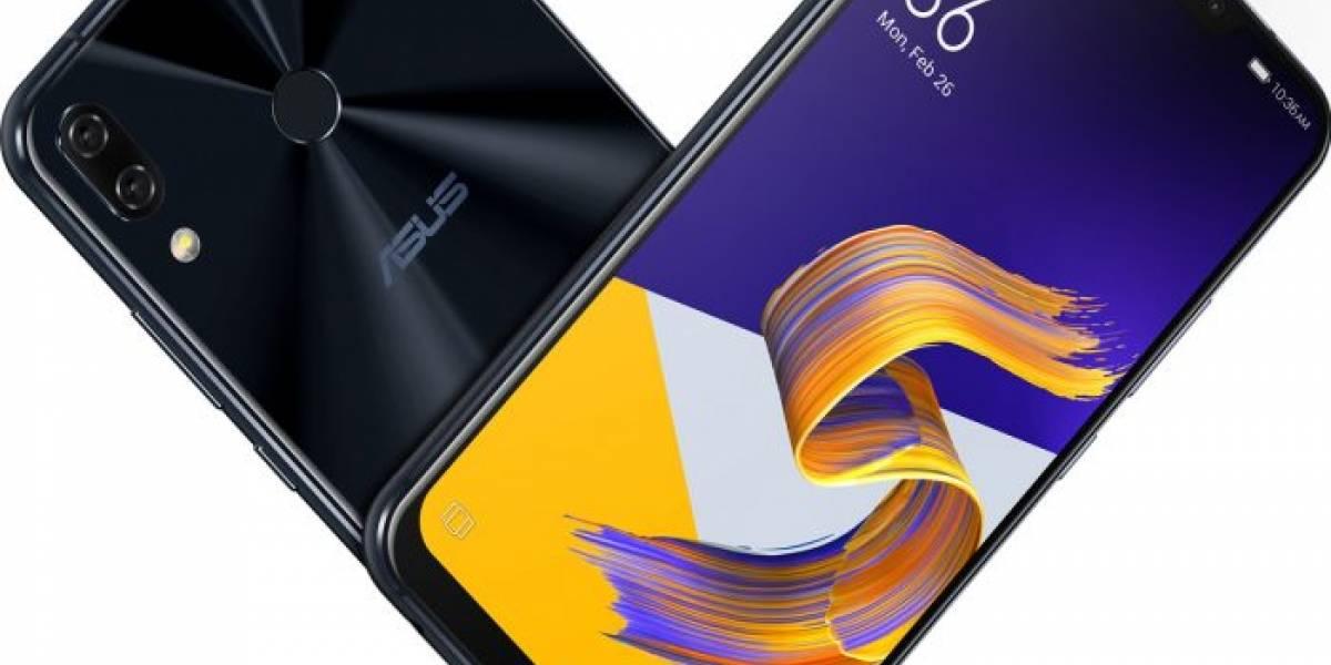 Asus presentó el Zenfone 5: un iPhone X con Android #MWC2018