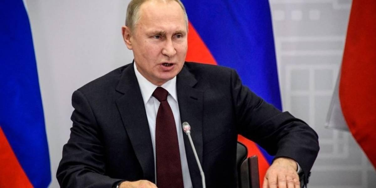 Putin presume nuevas armas nucleares de Rusia