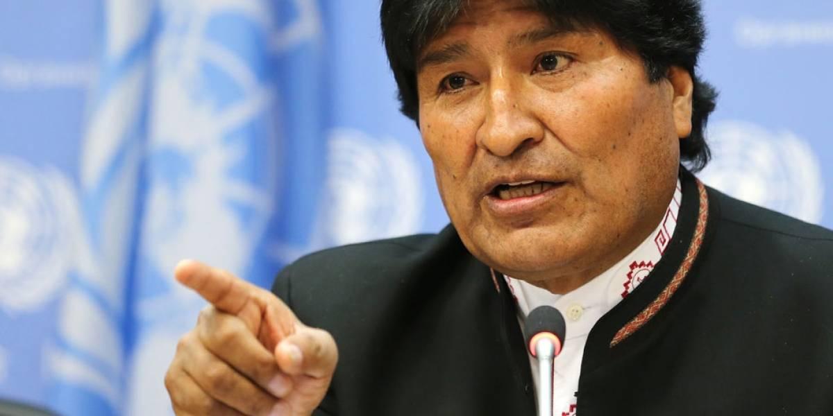 Evo Morales alerta que se prepara golpe de Estado en Bolivia
