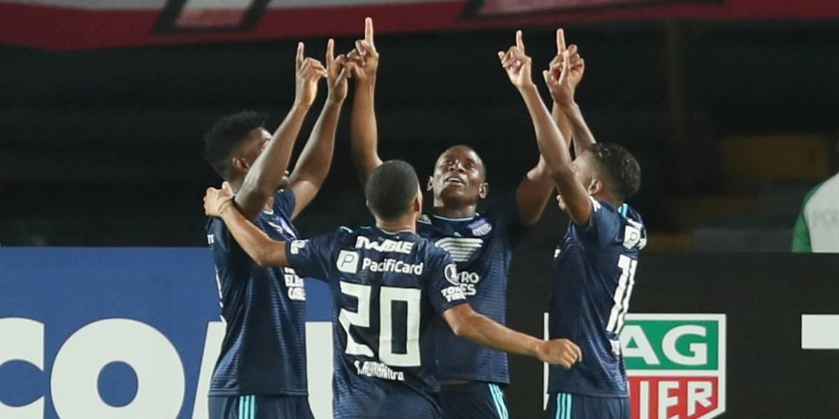 Emelec iguala 1-1 a Santa Fe en Copa Libertadores