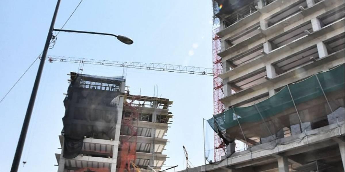 Construyen obra irregular sobre vestigios históricos en GAM