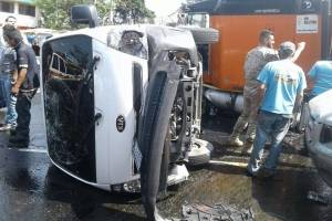 accidente ruta Interamericana