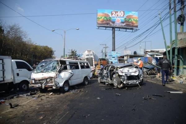 Accidente ruta interamericana