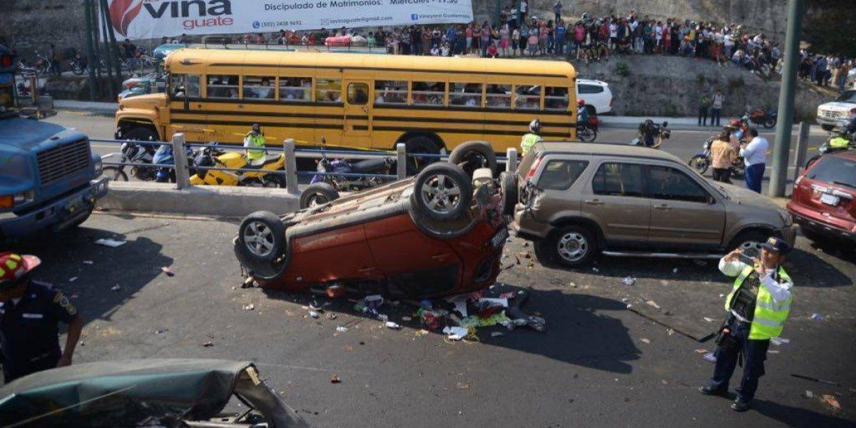 Autoridades de tránsito manejan dos hipótesis sobre causa de accidente en ruta Interamericana