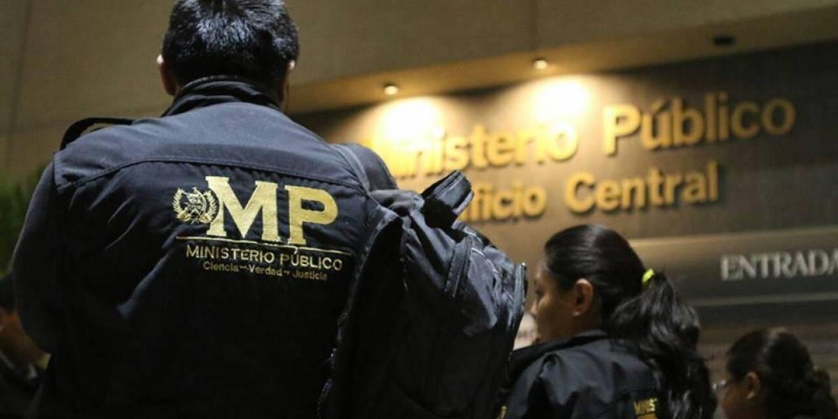 MP y PNC realizan allanamientos en seguimiento a casos de extorsión