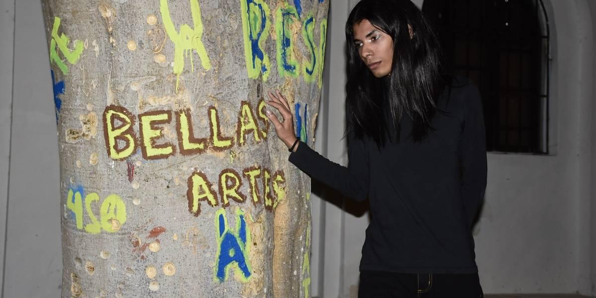 """""""La androginia es tan ambigua como el mismo ser humano"""": Bryan Vendries, artista plástico barranquillero"""