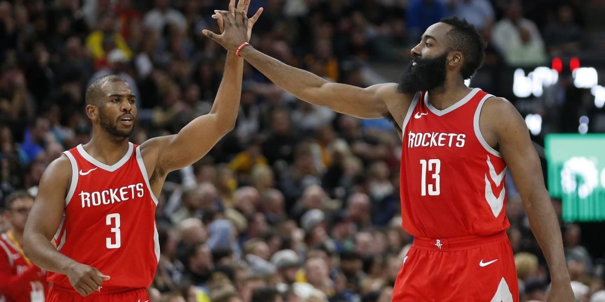 Houston Rockets sigue su paso arrollador en la NBA con la Barba Harden en llamas