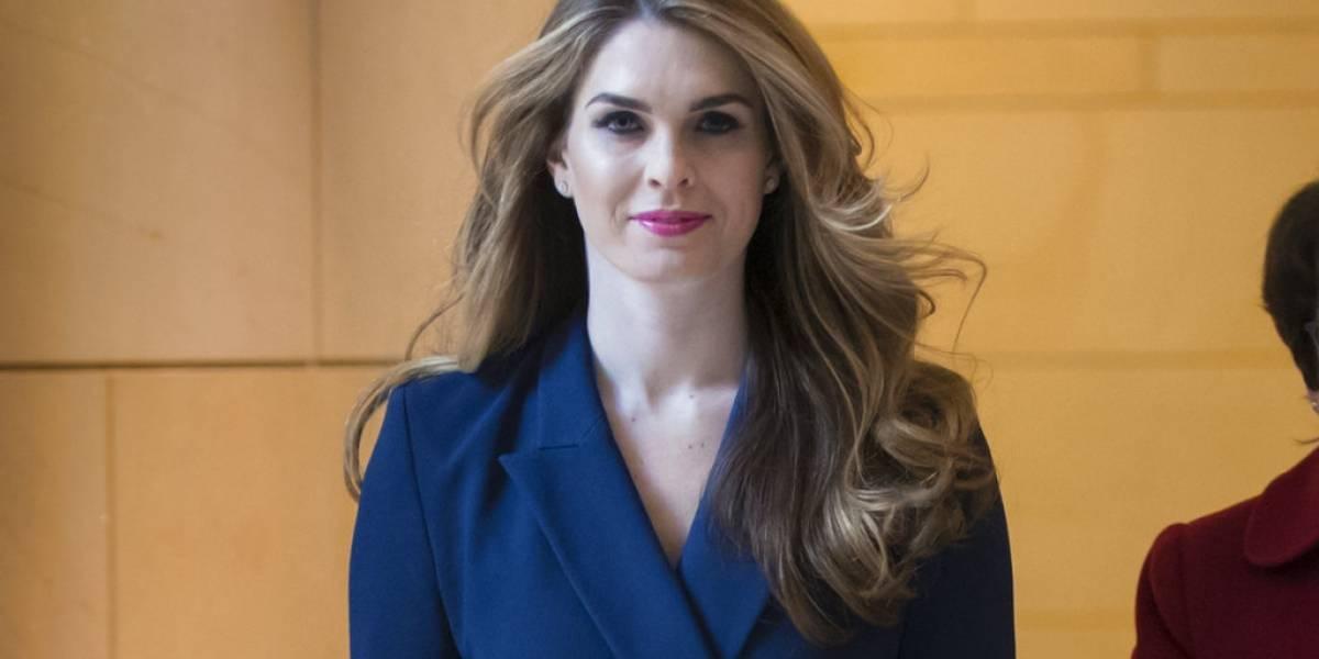 Hope Hicks, la ex modelo que con su renuncia deja un vacío en la Casa Blanca