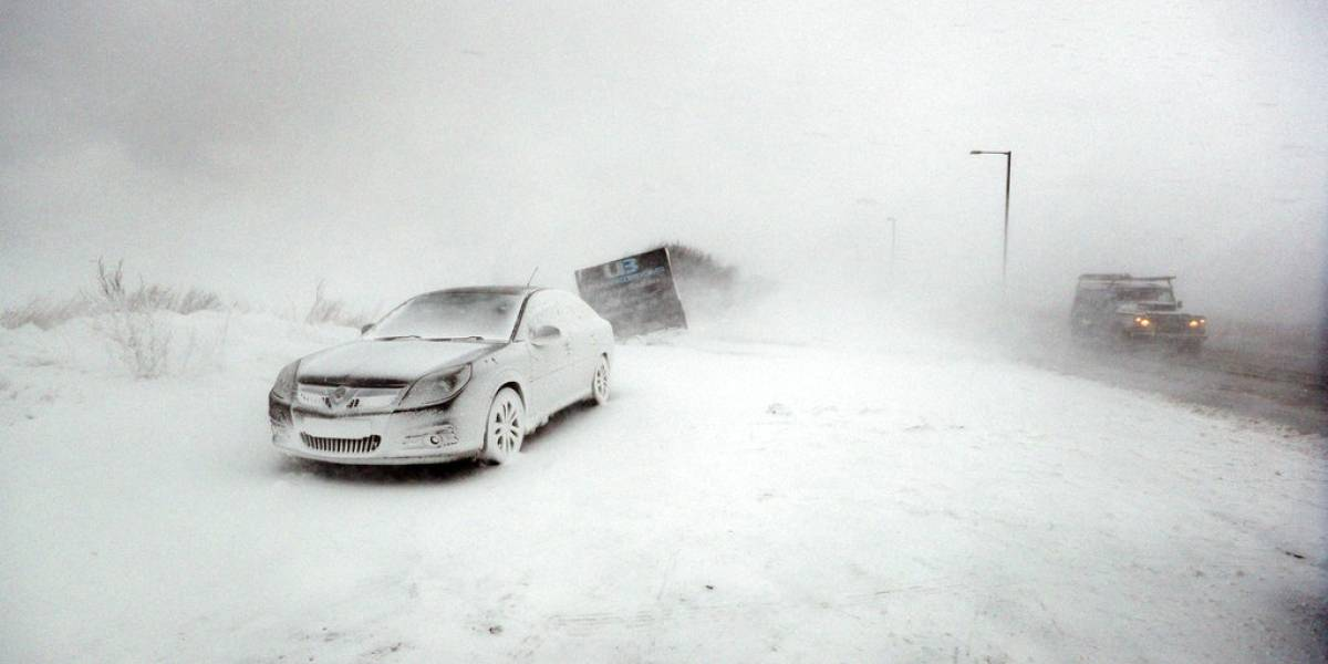 Europa en alerta tras potente ola de frío: nevadas, inundaciones y personas atrapadas en su vehículos deja el frente de mal tiempo