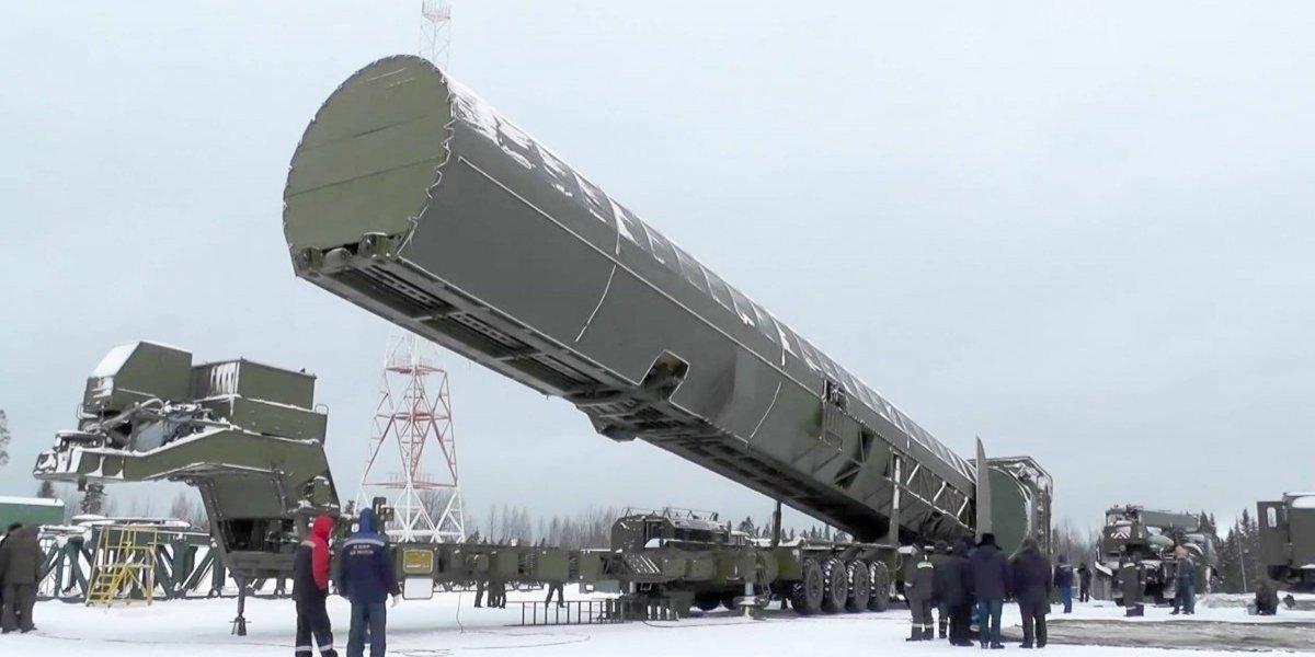 """Así es el misil ruso Satan 2, capaz de provocar una """"lluvia atómica"""""""