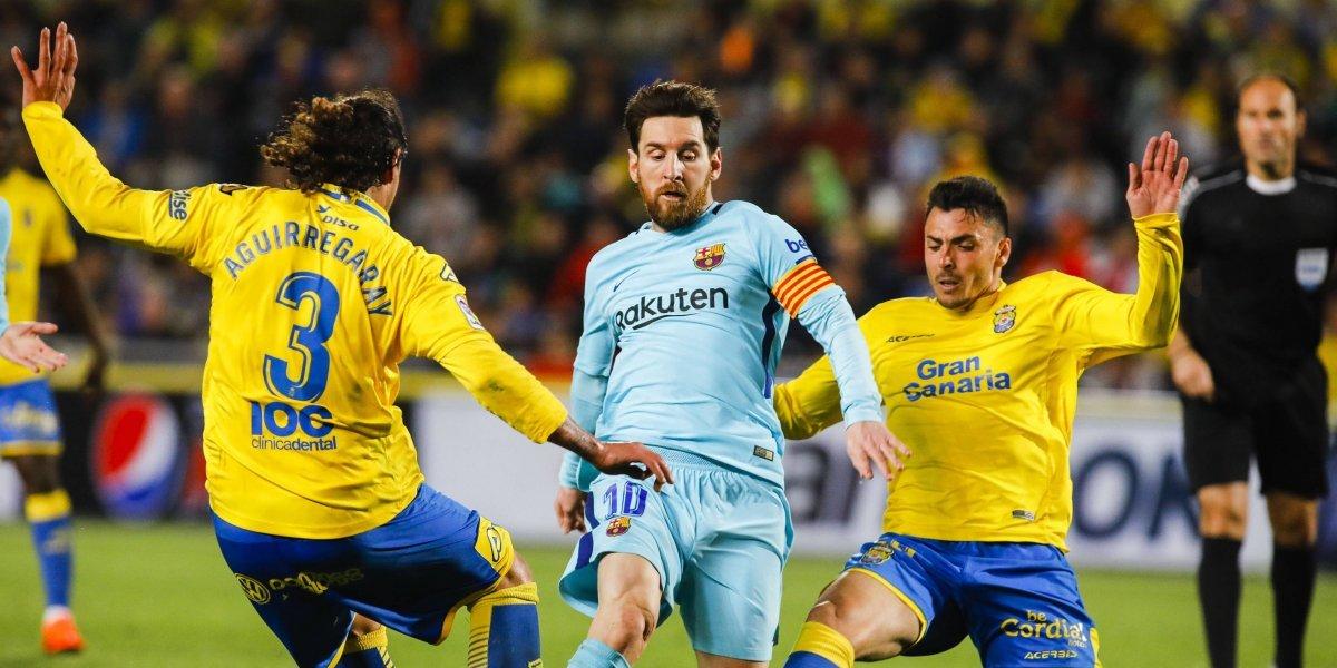 Barcelona igualó en su visita a Las Palmas y enciende la Liga Española