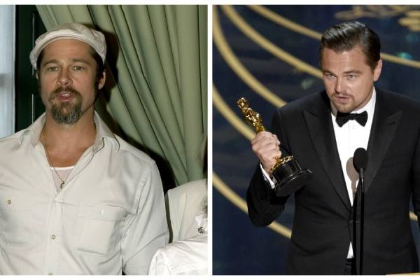 Brad Pitt y Leonardo