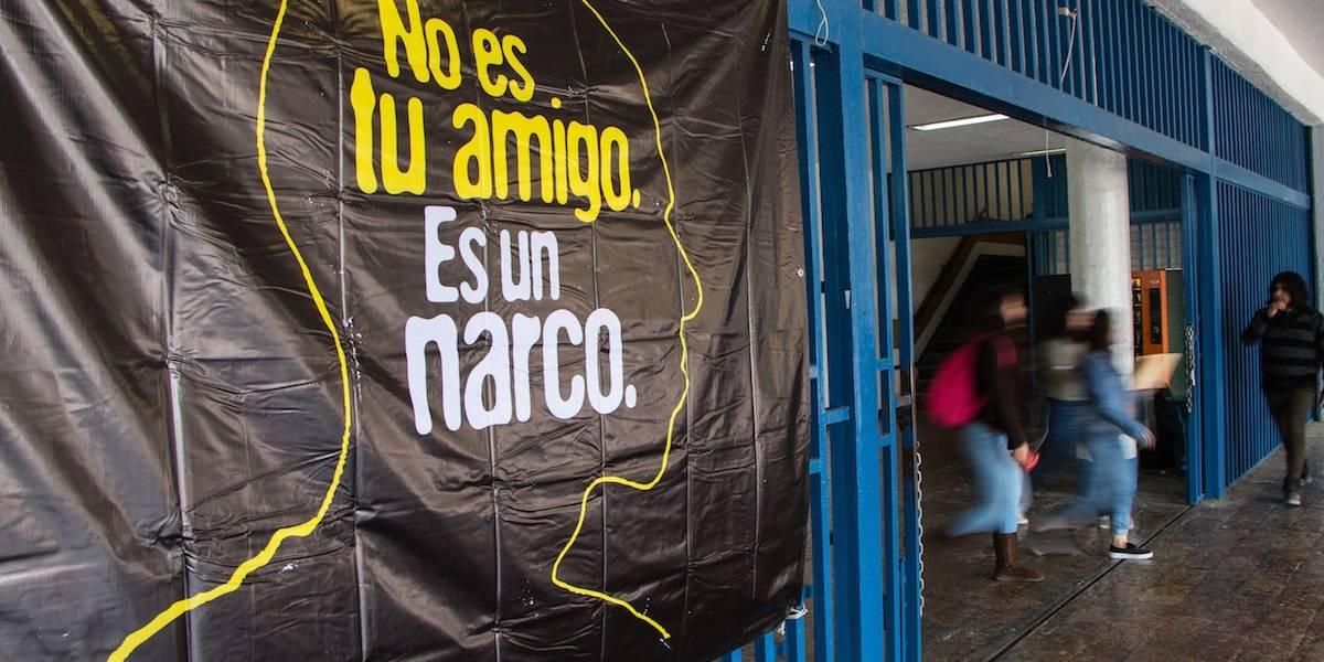 A proceso cinco hombres por narcomenudeo en inmediaciones de la UNAM