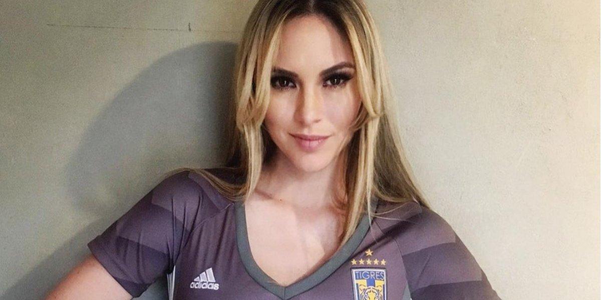 ¡Impresionante! Miroslava Montemayor presume el nuevo uniforme de Tigres