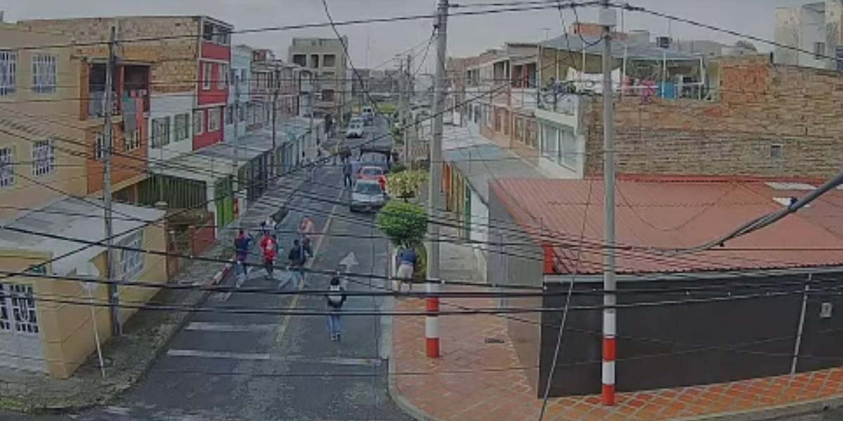 Batalla entre barras bravas de Santa Fe y Millonarios en el sur de Bogotá