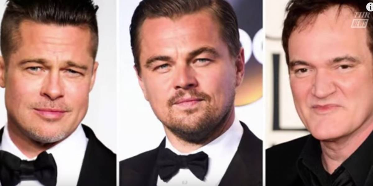 Brad Pitt y Leonardo DiCaprio estarán en película de Tarantino sobre Charles Manson