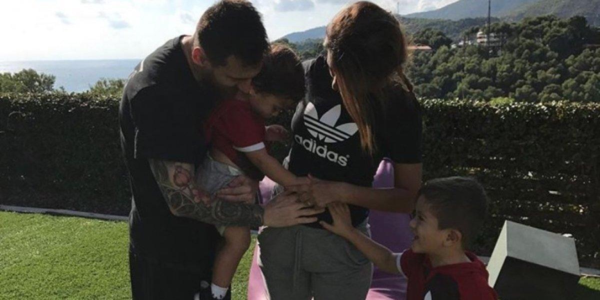 Se filtran fotos de Antonella a unos días de dar a luz al tercer hijo de Messi