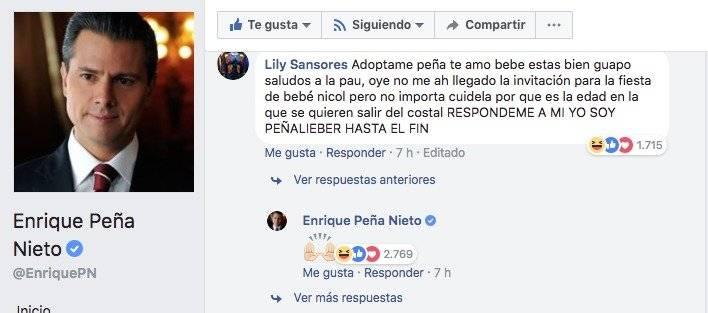 Foto: Facebook / Enrique Peña Nieto