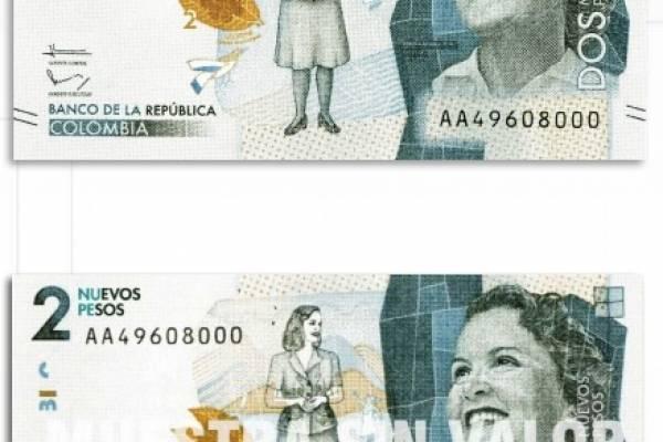 Nuevos billetes sin los 3 ceros