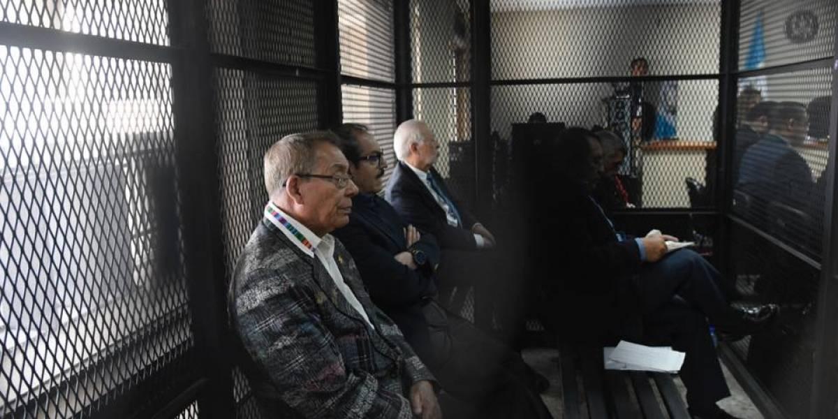 En el banquillo, exmilitares por la desaparición de Marco Molina Theissen en 1981